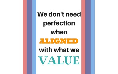 The more aligned you are with your values the happier you are