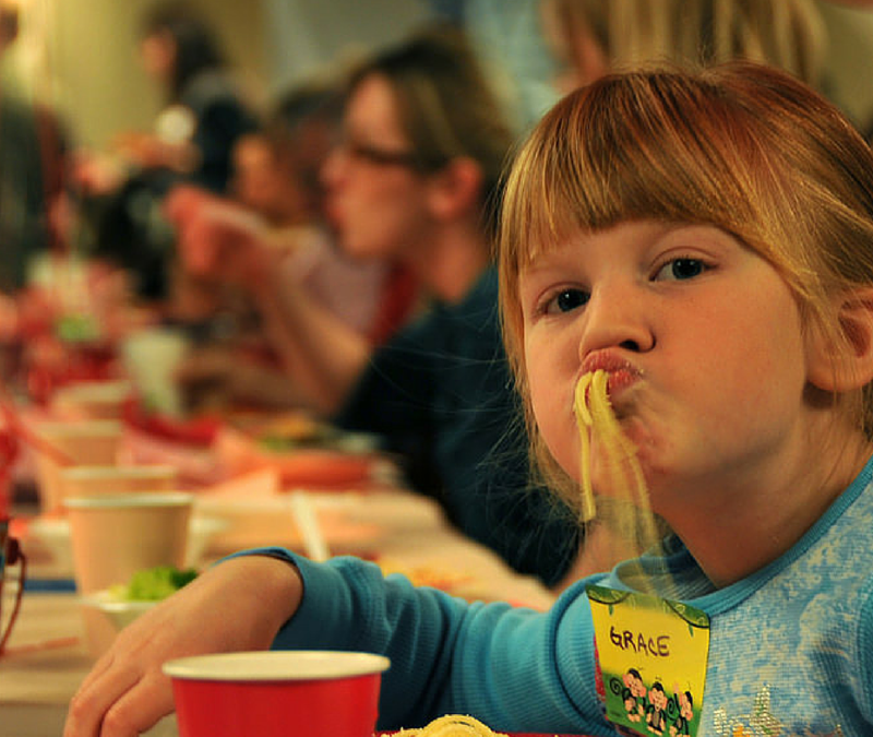 Your deaf kids and the dinner table