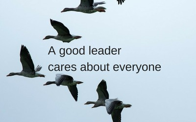 The best leaders care about everyone