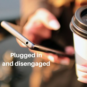 [image description: close up of a hand holding a smart phone]